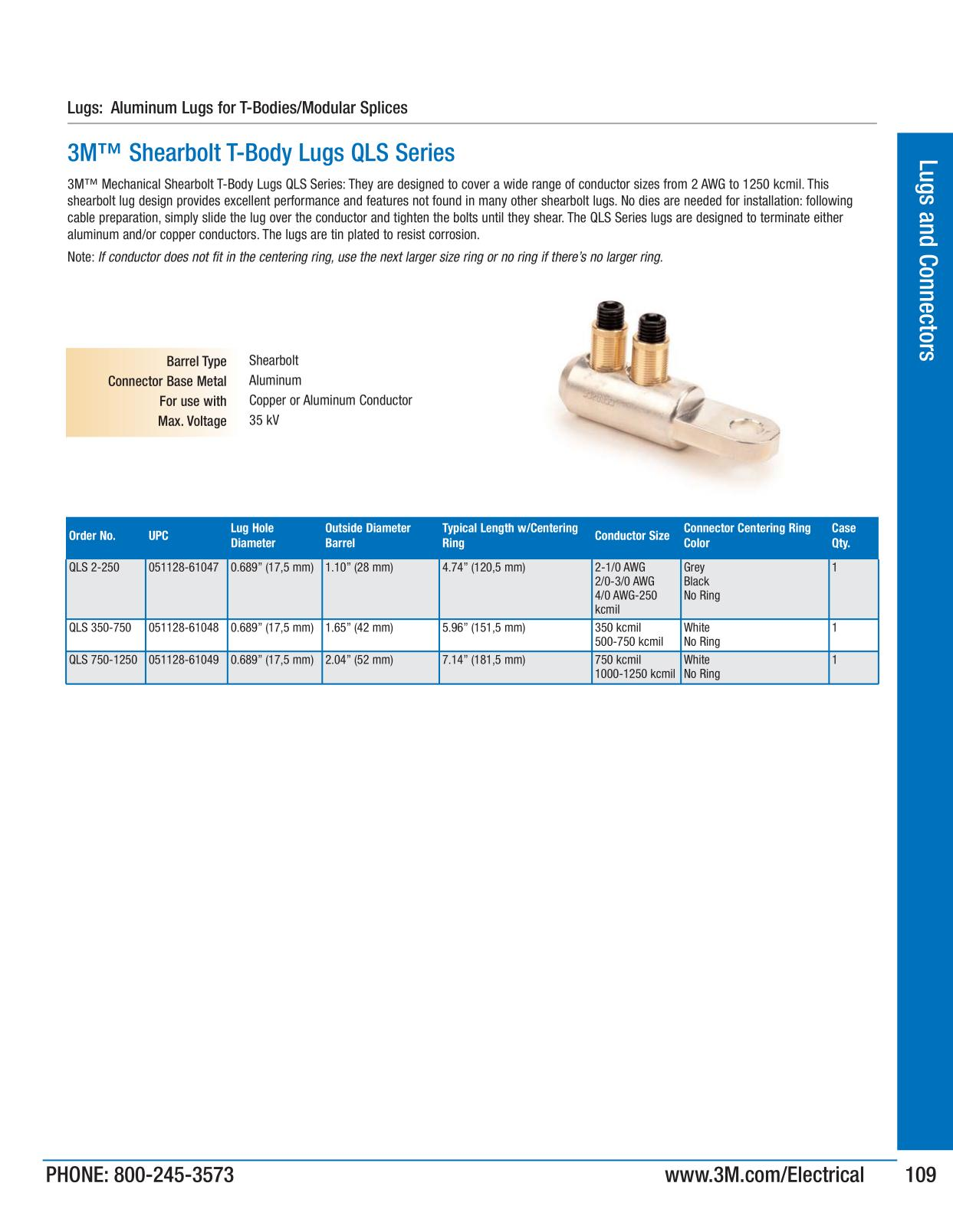 Lugs and connectors 3m big deal promotion page 109 keyboard keysfo Choice Image