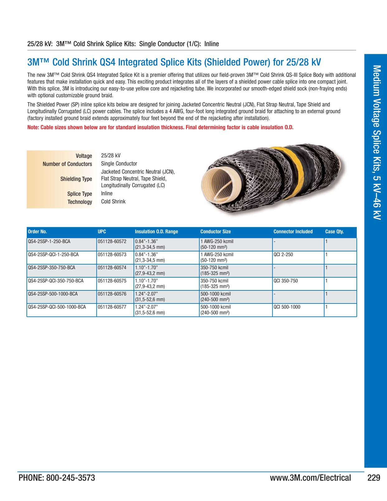 Medium voltage splice kits 5 kv 46 kv 3m electrical products medium voltage splice kits 5 kv 46 kv 3m electrical products page 229 greentooth Choice Image