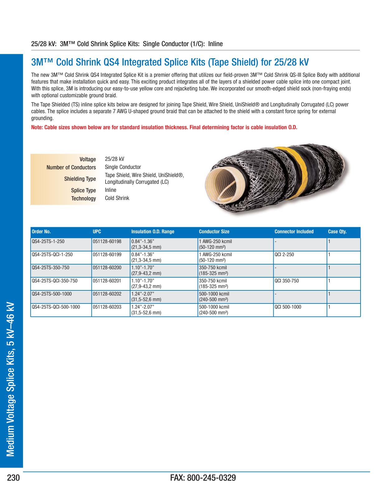 Medium voltage splice kits 5 kv 46 kv 3m electrical products medium voltage splice kits 5 kv 46 kv 3m electrical products page 231 greentooth Images
